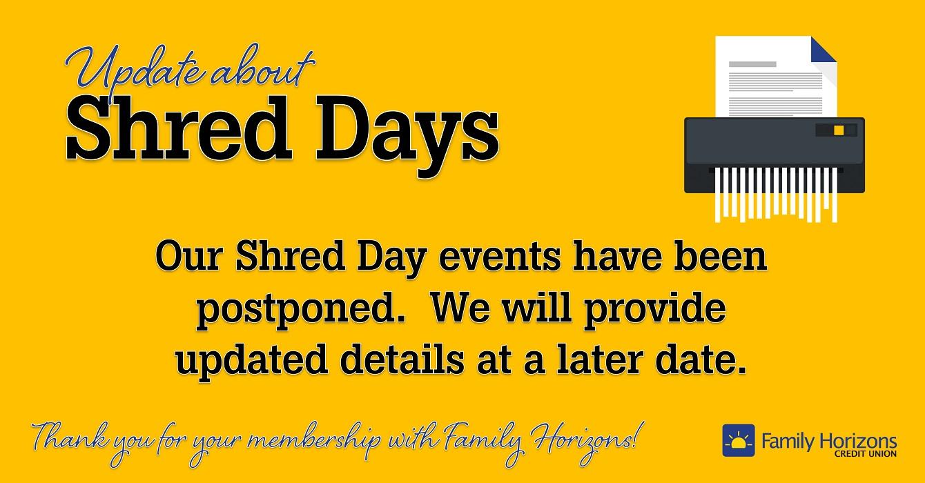 042020-Shred-postponed